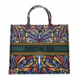 Imagem do produto BOLSA DIOR BOOK TOTE CANVAS EMBROIDERED MULTICOLOR