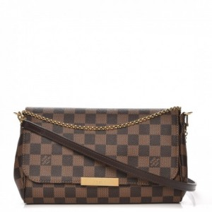 BOLSA LOUIS VUITTON FAVORITE DAMIER EBENE N41276